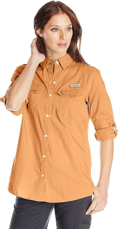 Columbia Sportswear Women's Bonehead II Roll Tab-Sleeve Shirt