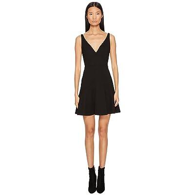 DSQUARED2 Wool Jersey Grunge Dress (Black) Women