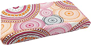 One Grace Place Sophia Lolita Changing Pad Cover, Pink/Orange/White