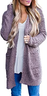 MEROKEETY Women's Long Sleeve Soft Chunky Knit Sweater...