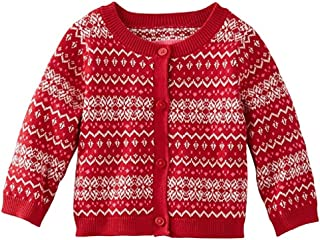 Baby Girls' Fair Isle Cardigan