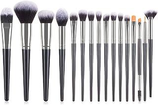 Makeup Brushes Set,JSwell 16 Pcs Makeup Brush Kit Premium Synthetic Foundation Powder Blush Concealer Eye Shadow Eyelash E...