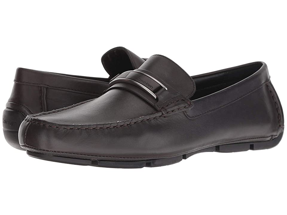 Calvin Klein Kadison (Dark Brown Dress Calf) Men