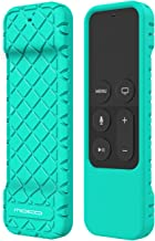 MoKo Silicone Case Compatible with Apple TV 4K/4th Gen Remote, Lightweight Non-Slip-Grip & Secure Protective Cover Compatible with Apple TV 4K Siri Remote Controller - Green