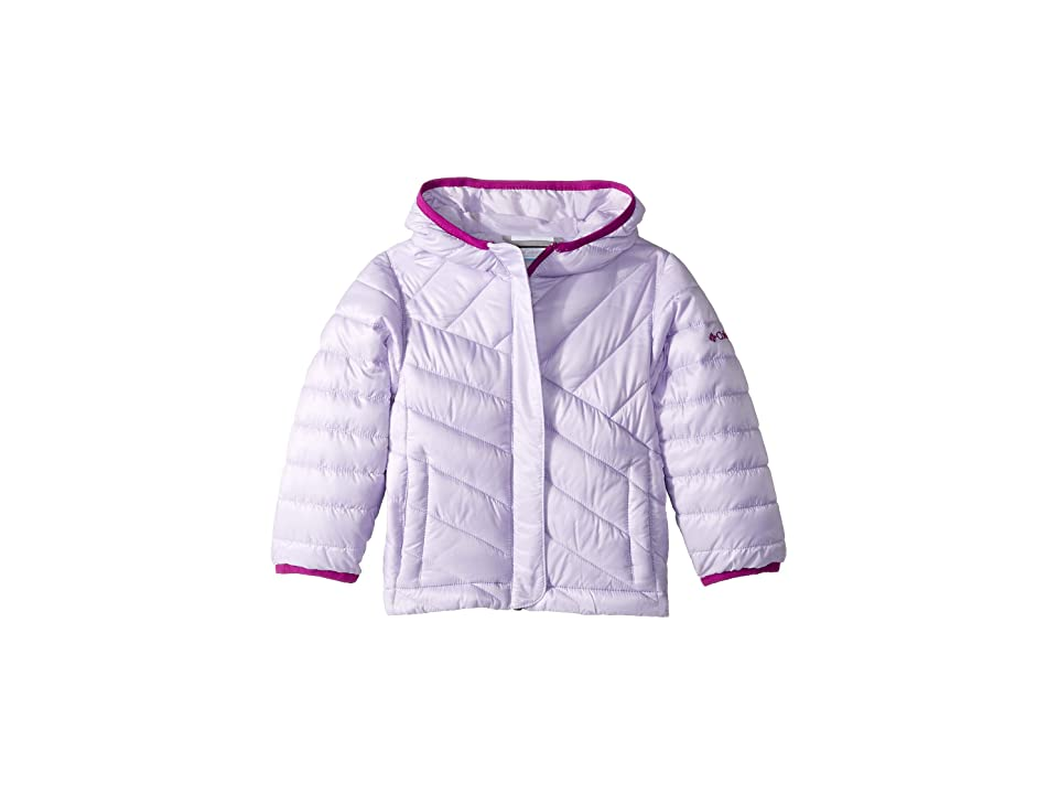 Columbia Kids Powder Litetm Puffer (Little Kids/Big Kids) (Soft Violet/Bright Plum) Girl