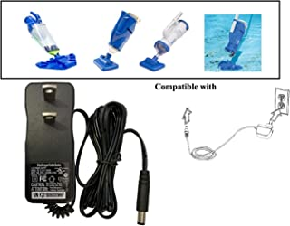 UpBright 10V- 12.8V AC/DC Adapter Compatible with Water Tech PBA099-US-EU PBA099 PBA099L TL02-128025U WTPBA099 PBA099-EU LC099-3S PBA099-8-US-EU Pool Max HD ivac M3 M2 350 Vac Vacuum Battery Charger