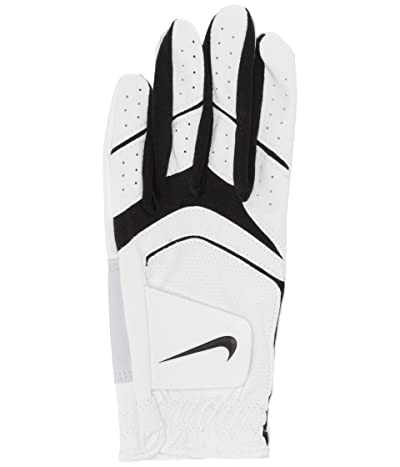 Nike Dura Feel VIII Regular Left Hand Golf Gloves (Big Kids) (Pearl White/Pearl White/Black) Over-Mits Gloves