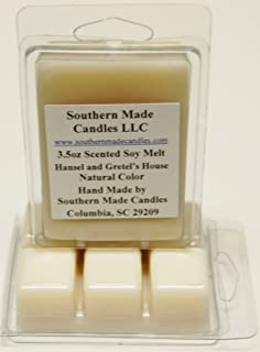 3 Pack 3.5 oz Scented Soy Wax Candle Melts Tarts - Hansel's & Gretel's House