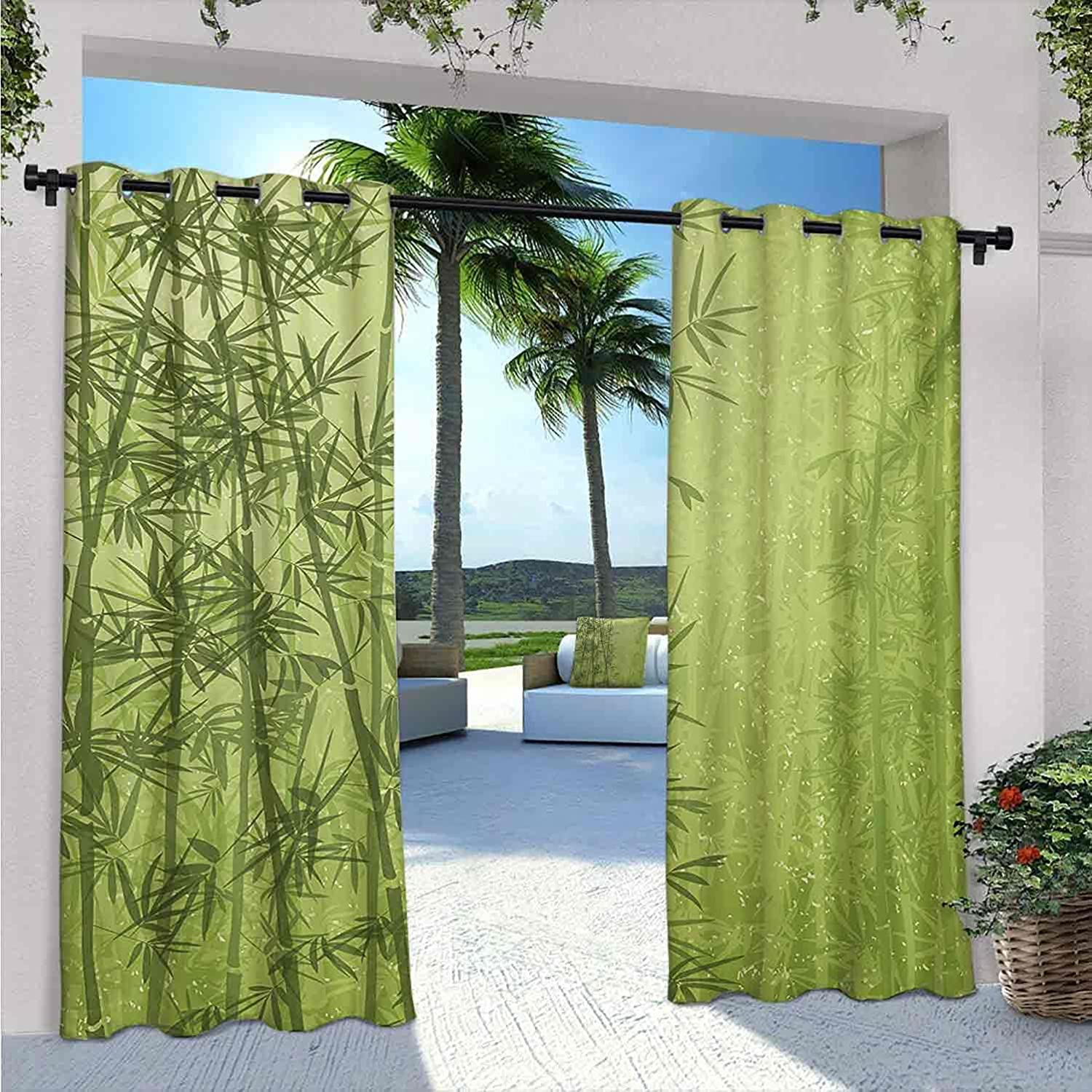 Exotic Waterproof Indoor Outdoor Curtains Seattle Mall for Patio Fo Tropical Choice