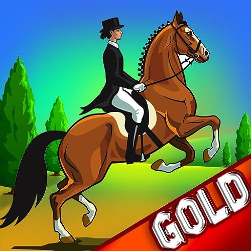 corrida a cavalo agilidade: o obstáculo concurso dressage jumping - edição de ouro