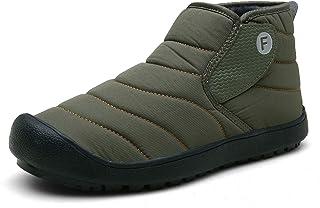 Gaatpot Unisex Adulto Botas de Nieve Cálidas y Cómodas Zapatos de Invierno Fur Forro Aire Libre Zapatillas de Deporte Send...