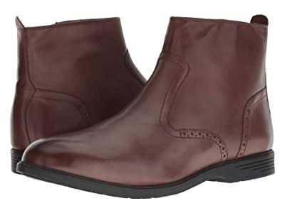 Hush Puppies Shepsky Zip Boot (Brown Leather) Men