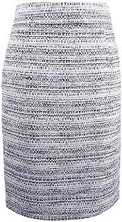 Womens Boucle Work Wear Pencil Skirt