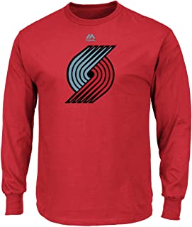 Majestic Atlanta Hawks NBA Supreme Logo Men's Long Sleeve T-Shirt - Red