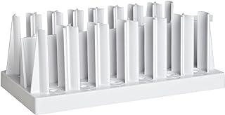 Bel-Art F18916-0000 Color Comparison Tube Rack; 6 - 8 Places, 8¹/8 x 4¹/2 x 3¹/2 in., Polypropylene
