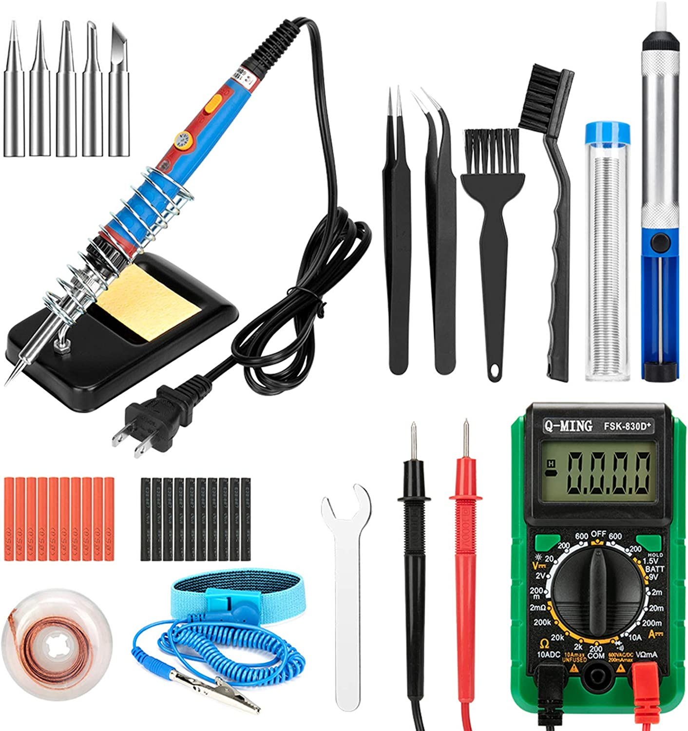 Soldering Iron Kit 43 in New color 1 Kits Upgraded Adjustable Jacksonville Mall T