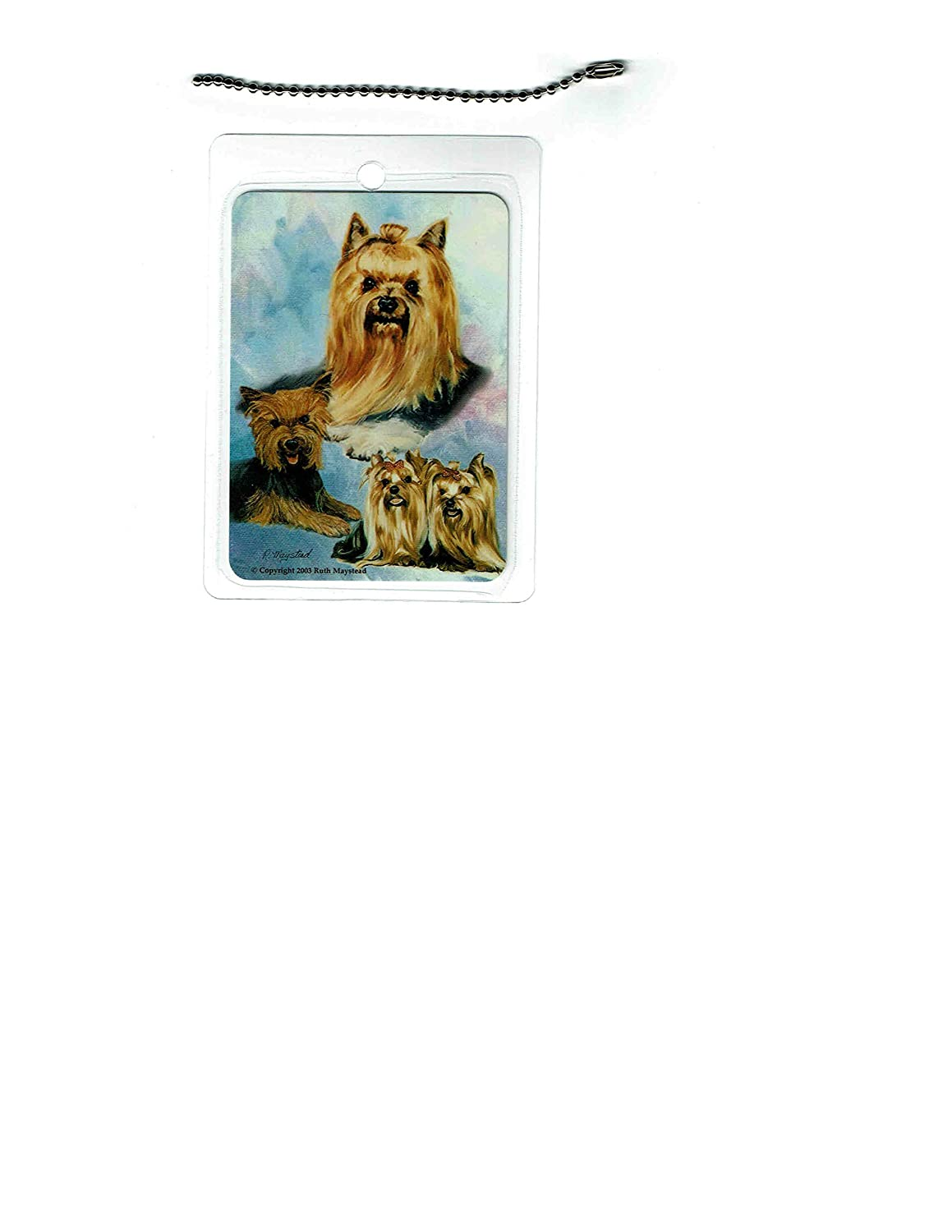 Yorkshire Terrier Dog Luggage Tag Max 88% OFF 2021 model