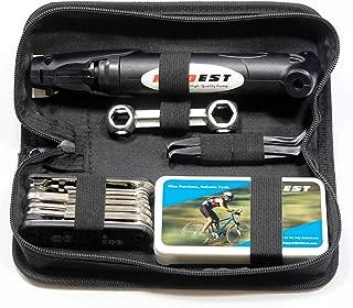 Kitbest Bike Repair Tool Kit. 100 PSI Mini Bike Pump,...