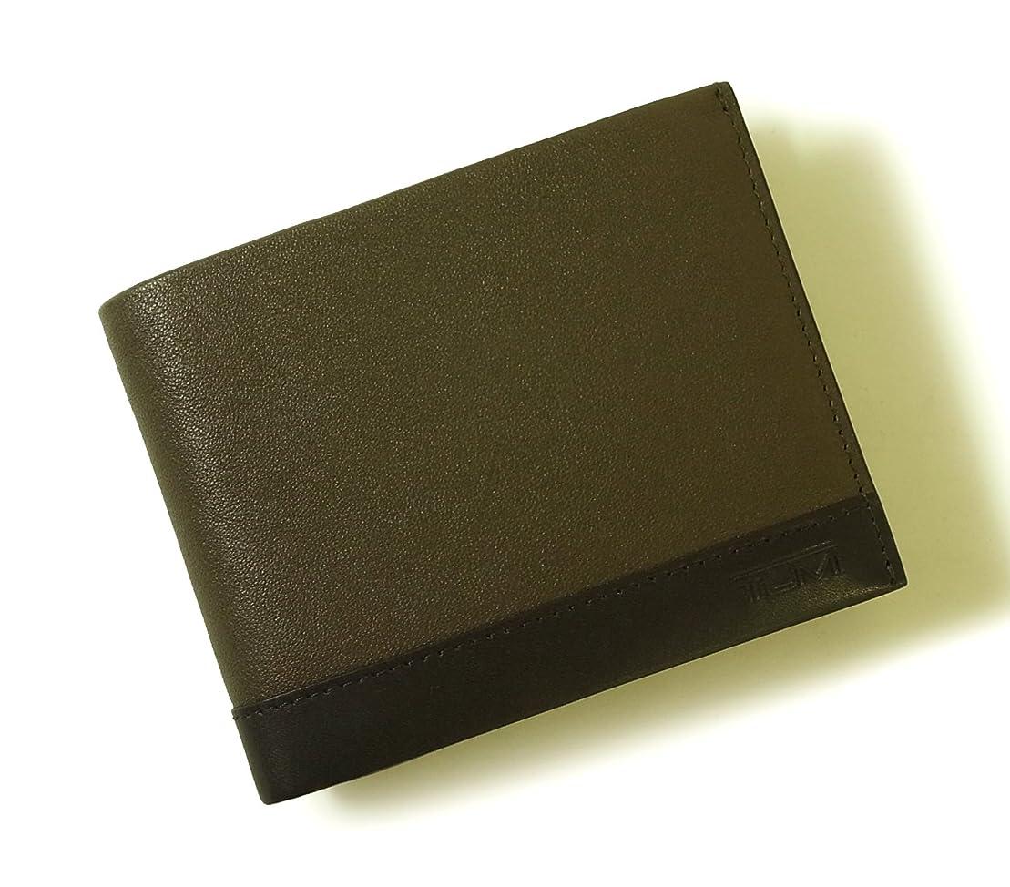 毒性ヒゲクジラテント[トゥミ] 財布 メンズ レザー 二つ折り (ブラウン) RIVINGTON 18737SMK TM-151 [並行輸入品]