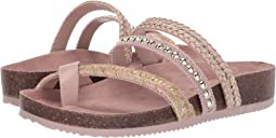 Pink Sand/Jute Metallic Woven Braid/Smooth Atanado Veg/Jute