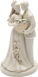 Best golden wedding figurines Reviews