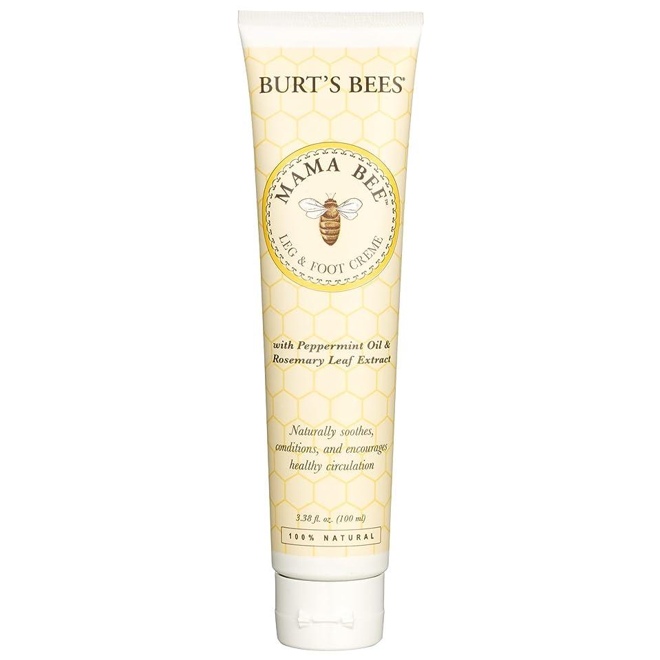 実行待つ実質的バーツビーママ蜂レッグ&フットクリーム100ミリリットル (Burt's Bees) (x2) - Burt's Bees Mama Bee Leg & Foot Creme 100ml (Pack of 2) [並行輸入品]