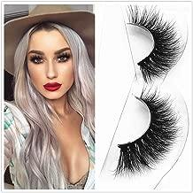 D115 Thick Mink 3D Strip Lashes 100% Siberian Fur Fake Eyelashes Hand-made Hair False Eyelash 1 Pair Package Miss Kiss