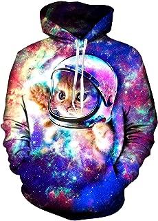 Unisex 3D Print Fleece Hoodies Pullover Long Sleeve Hooded Sweatshirts