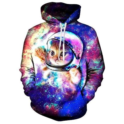 I/'m Hers Purple Galaxy Design Unisex Hoodie