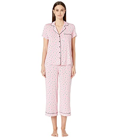 Kate Spade New York Modal Jersey Cropped Pajama Set (Petal Floral) Women