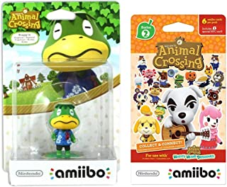 Kapp`n Amiibo (Animal Crossing Series) for Nintendo Switch - WiiU, 3DS Bonus 1-Pack (6 Cards/Pack) (Bundle)