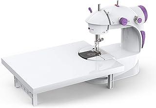 Varmax コンパクトミシン 初心者向け 簡単操作なミシン 大きなテーブル付き 筒状の物を縫うことができる