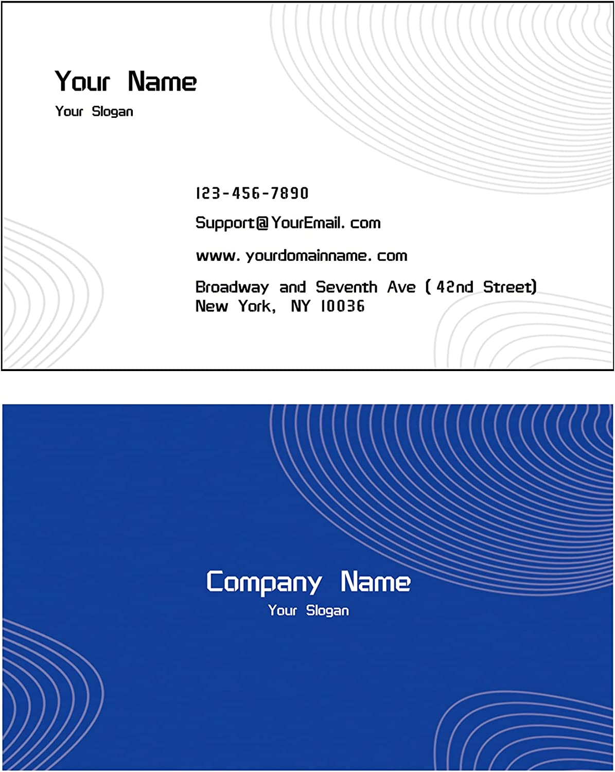 100% quality warranty! Business Cards Customizable Ranking TOP4 Full Color Back Front and C
