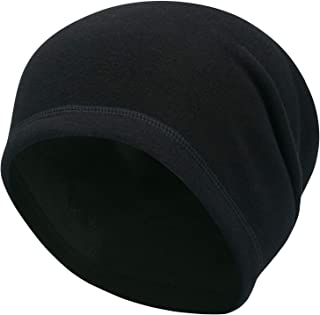Arcweg Skull Cap Hat Winter Cotton with Thermal Fleece Lining Windproof Helmet Stretchable Cycling Cap Breathable Lightwei...