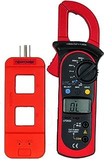 Tekpower UT202A (Uni-Trend) Auto-ranging AC 600 Amp Clamp Meter with Tekpower Line Splitter M920