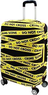 غطاء حقيبة الأمتعة حامي يناسب 19-33 بوصة معتمدة من إدارة أمن المواصلات غطاء حقيبة سفر قابل للغسل مقاوم للغبار والخدش