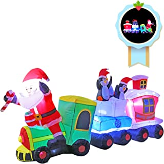 Best inflatable christmas train decoration Reviews