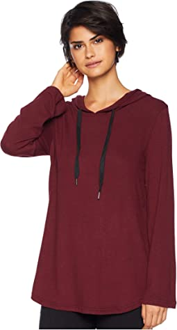 Join the Circle Hacci Bell Sleeve Tunic Hoodie