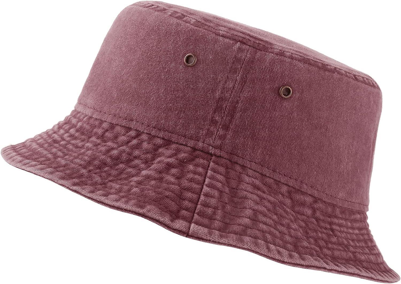 NTLWKR 56cm - 60cm Adjustable Bucket for Women Detroit Mall Hat Teens Large discharge sale Sum Men