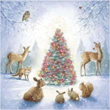 Ukerdo DIY Christmas Elk Rabbit Diamond Painting Kits Full Drill Pictures for Home Wall Arts Decor