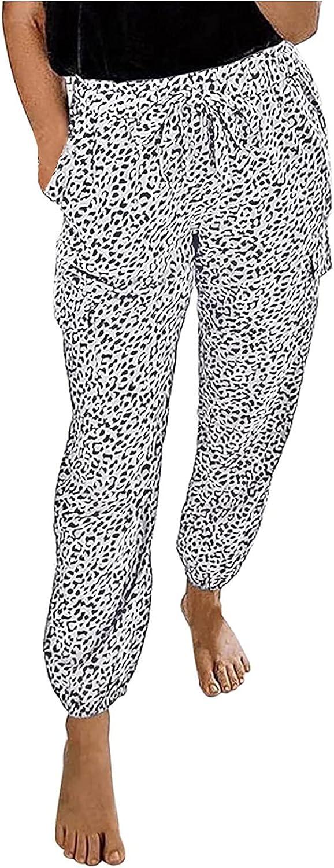 MIVAMIYA Women's High Waisted Sweatpants Drawstring Joggers Pants Comfy Lounge Pajamas Pants Workout Yoga Trouser M-3XL