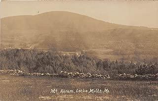 Lockes Mills, Maine Postcard