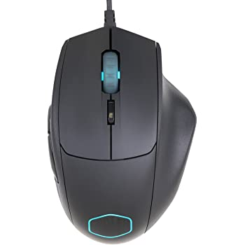 Cooler Master Mouse USB Optical Wired Right-Handed 7 Buttons Black