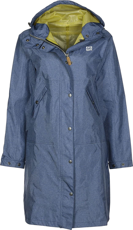 66° North Heidmrk Woherren Coat Special Edition Denim - Damen Regenmantel