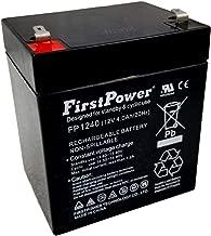 FirstPower FP1240 12V 4AH Replaces UltraTech SLA Alarm Battery UT1240 ISO9002