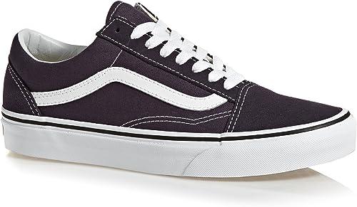Herren Vans Sneaker Positiv Weiß Old Skool Schuhe Weiß