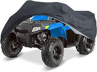 NEVERLAND 210D Durable ATV Storage Cover Waterproof Sun UV Protective Universal fits Polaris Sportsman Honda Foreman Yamaha Grizzly Kawasaki Bayou Can-Am Suzuki XXXL