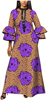 Traditional African Fabric Dresses Girls Ankara Dashiki Cocktail Colorful Clothing Designs Patterns