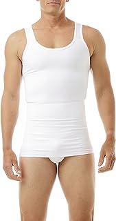 Underworks Mens Compression Body Shirt Girdle Gynecomastia Shirt
