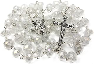 Best clear crystal bead necklace Reviews